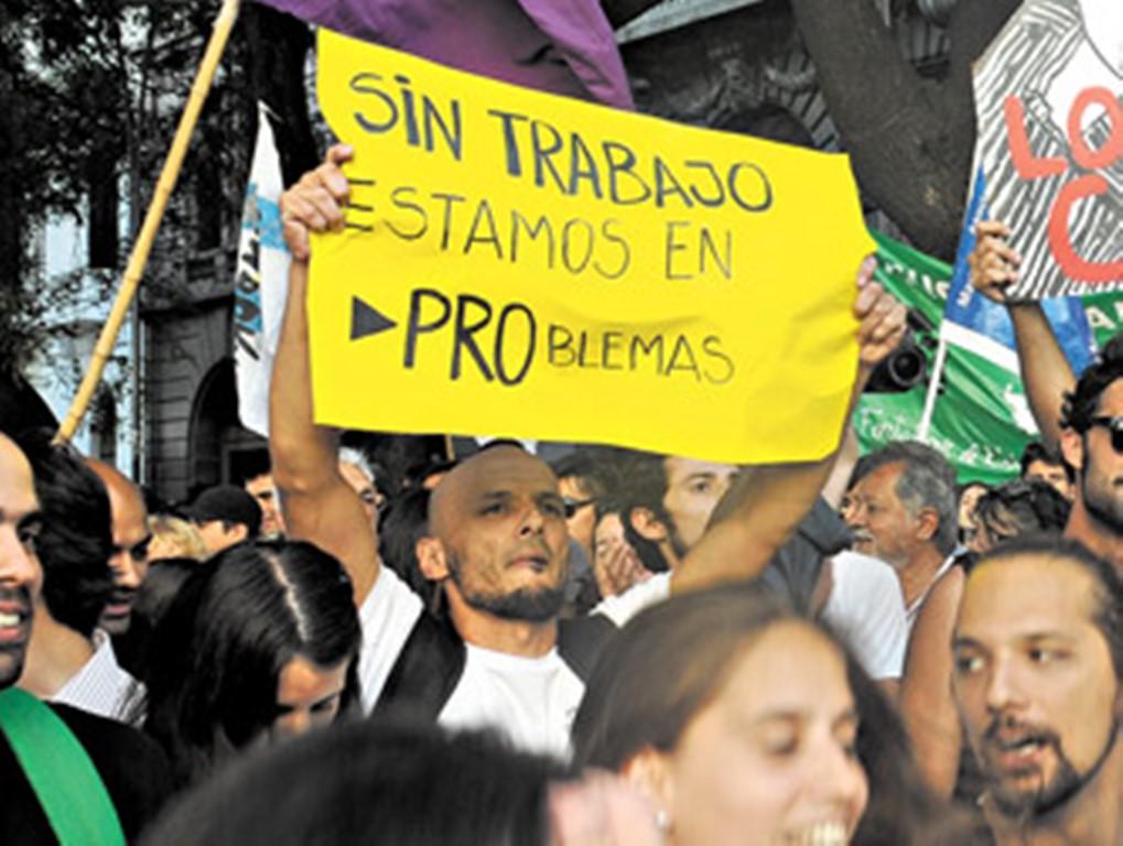 Resultado de imagen para desempleo argentina 2018