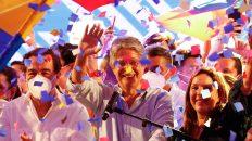 Guillermo Lasso, elecciones ecuador, triunfo