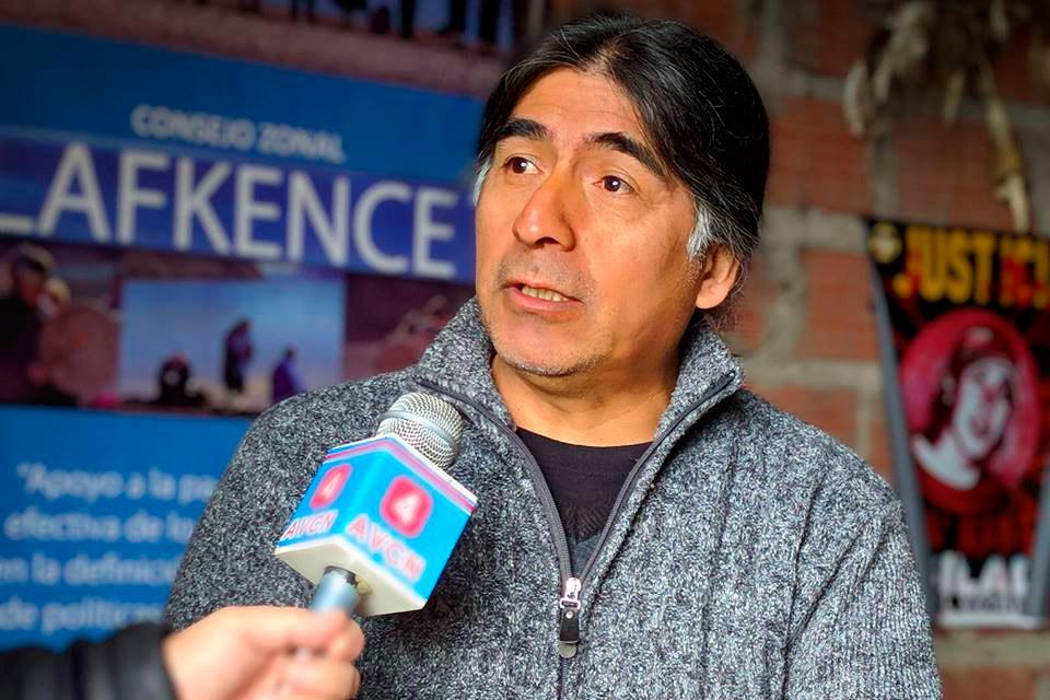 Florentino Nawel werken mapuche