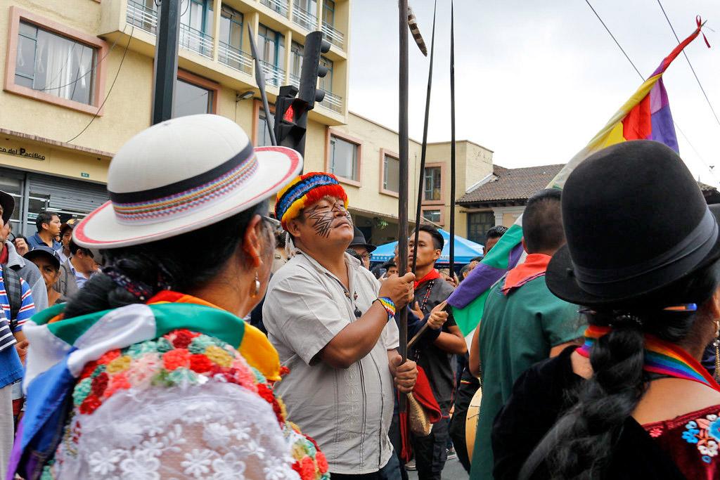 Rafael Vargas CONAIE Ecuador