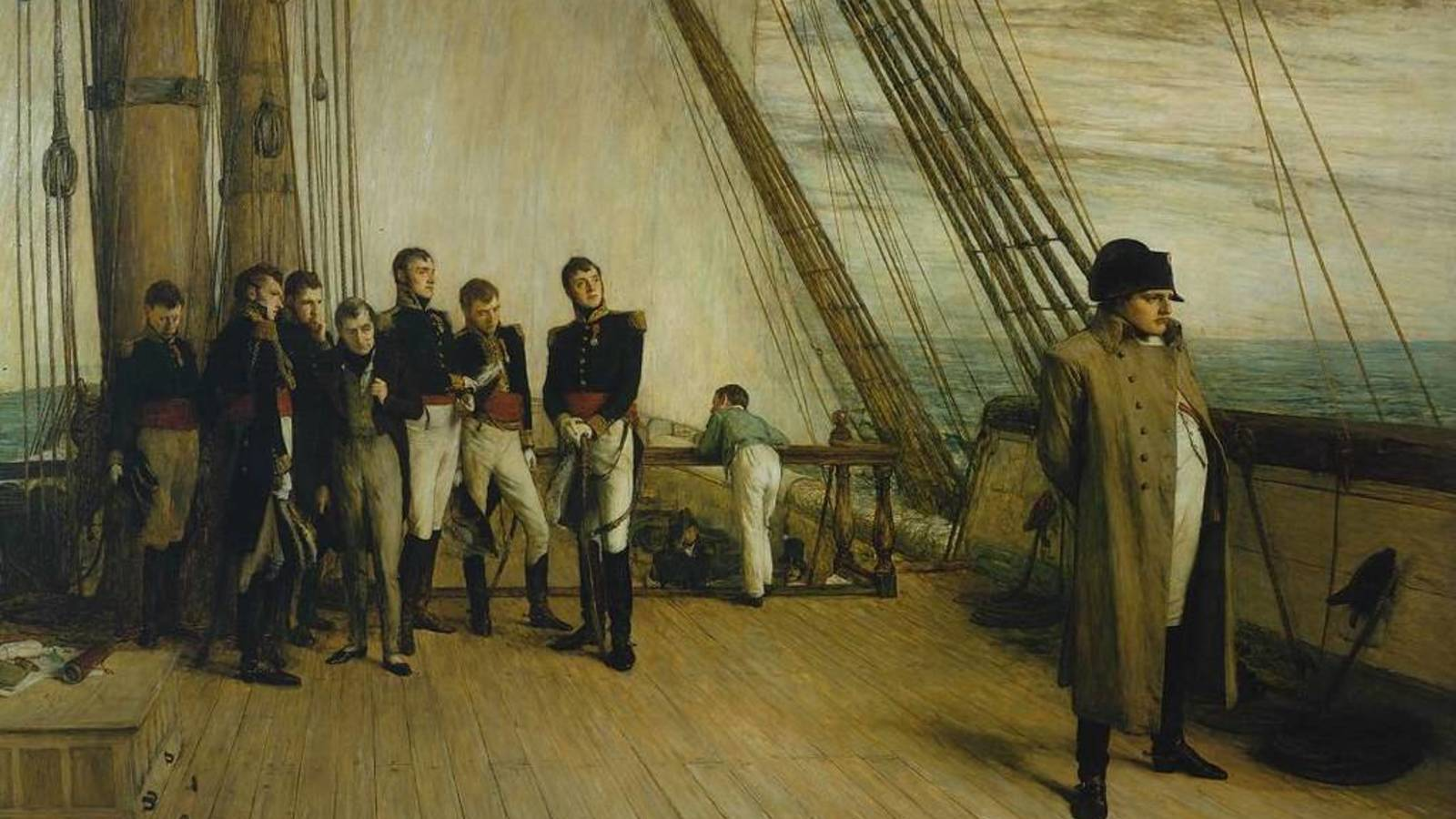Napoleón Bonaparte Santa Elena exilio muerte