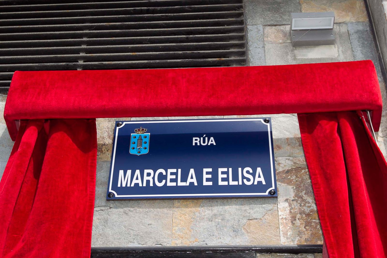 Calle Marcela y Elisa, la Coruña.