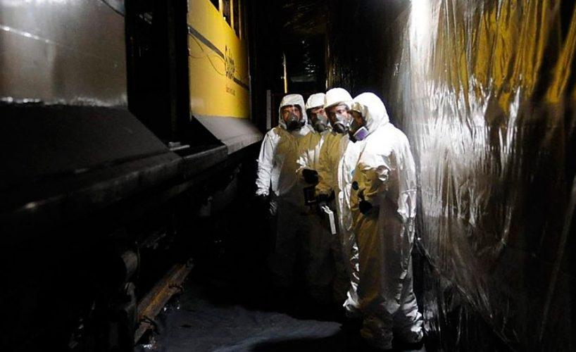 Asbesto en el subte - talleres rancagua