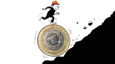 Inflación y salarios - Ilustración Marcelo Spotti