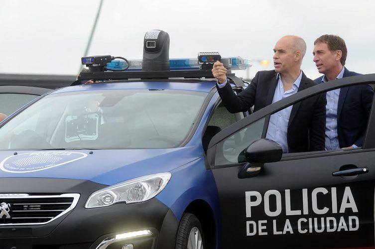Policía Ciudad Larreta
