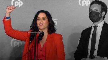 Diaz Ayuso, el neofascismo al poder