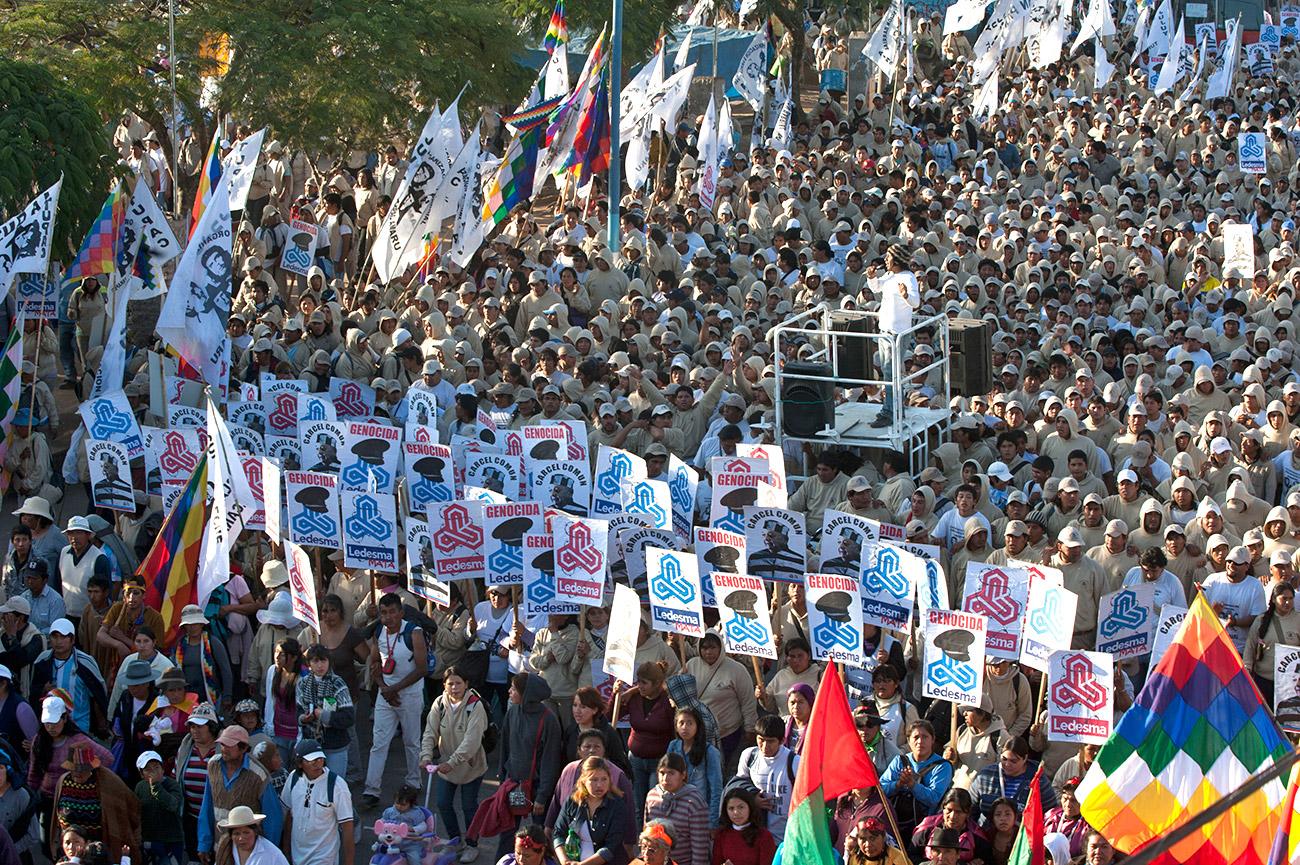 Marcha del Apagón 2012 - la Tupac Amaru