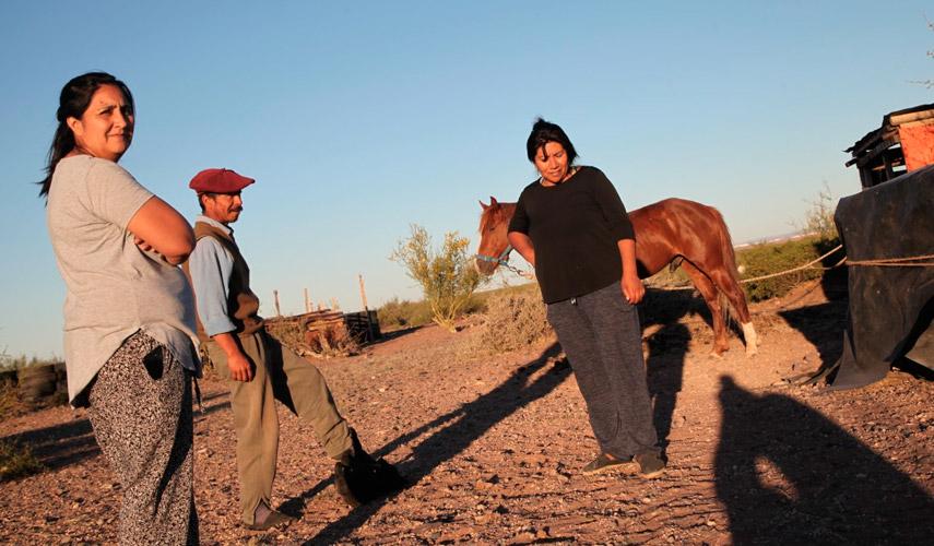 Lorena Bravo, werken de la lof Campo Maripe